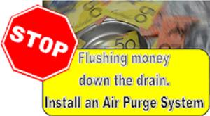 Air purge systems